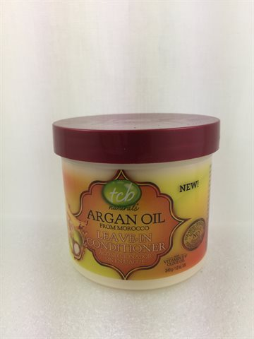 Tcb hair & Scalp Argan Oil Leave In Conditioner 340 gr.