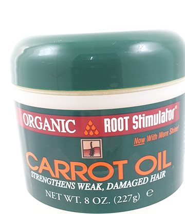 Org.Root st. Carrot OilStrengthens Weak, Damaged hair 227g.