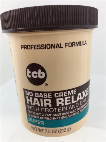 Tcb hair relaxer super in jar 212 gr (UDSOLGT)