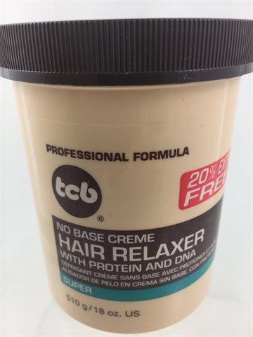 Tcb hair relaxer super in jar 510 g. (UDSOLGT)