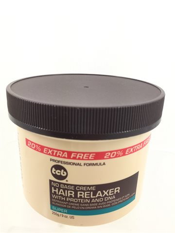 Tcb hair relaxer super in jar 255 gr (UDSOLGT)