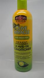 African Pride Olive live in Conditioner Hair & Scalp Strenthening 355 ml
