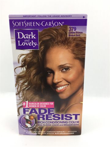 Dark & Lovely Hair Color Natural Golden Bronze 379 (UDSOLGT)