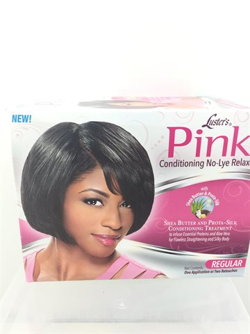 Pink conditioning Treatment no- lye relaxer regular