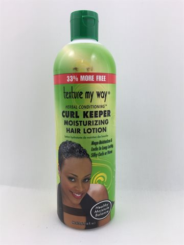 African Best Texture my way Curl keeper moisturizing Hair Lotion 355 Ml (UDSOLGT)