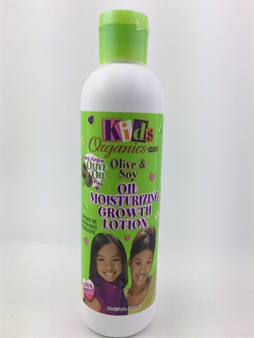 African Best Organics Olive & Soy oil Mois. Growth Lotion