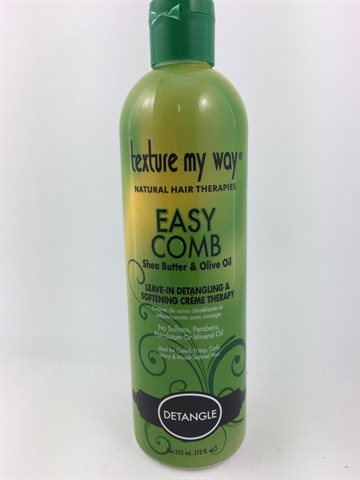 Texture My Way, Natural Hair Therapies - Easy Comb 355 Ml