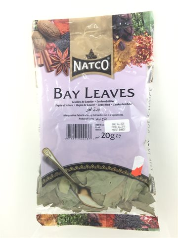Bay Leaves - Laurbærblade 20 gr