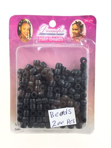Hair beads Black colour 200 Pcs..
