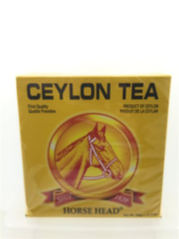 Black Ceylon Tea Horse head 400 gr