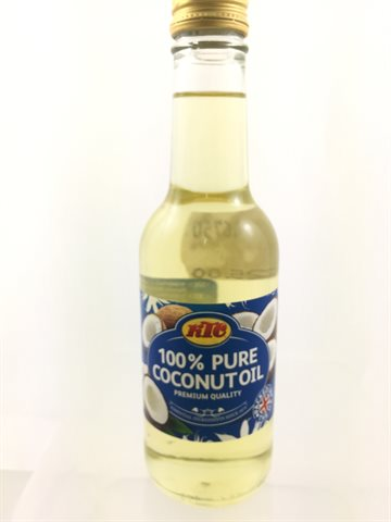 COCONUT OIL KTC (KOKOSNØD OLIE KTC) 250 ml