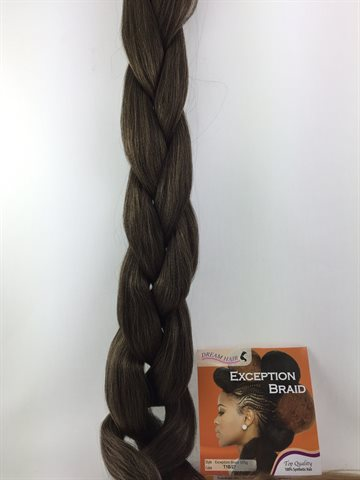 Exception  Braid Hair, Hot water (kanekalon) 165 Gr Colour T1B/27