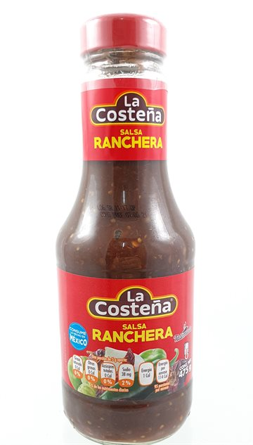 Salsa Ranchera 475 g. Mexicanske in Glass