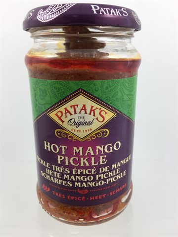 Hot Mango Pickles 285gr.