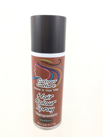 Hair Colour temporary Natural Brown 200 ml