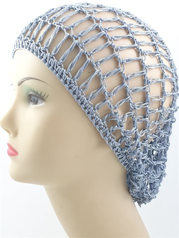 Hair Net Silver color for tighting huge hair.