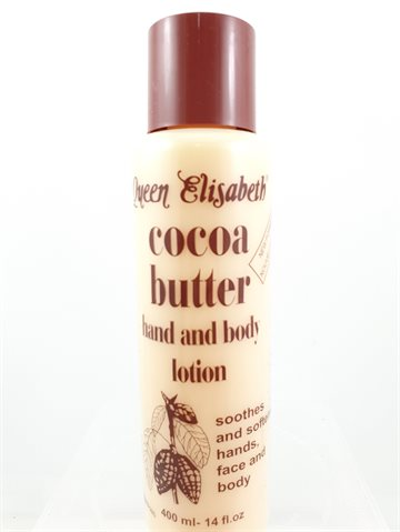 Queen Elizabeth Cocoa Butter hand and body lotion 400 ml