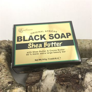 Black Soap Shea Butter 141 gr