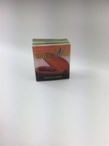 Papaya Soap. 100% Pure Vipada Papaya Soap 70 Gr.
