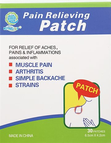 Pain Patch 5 bags X 6 pcs. 30 patches