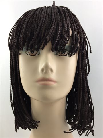 Wig in Braid colour 4 - 16""