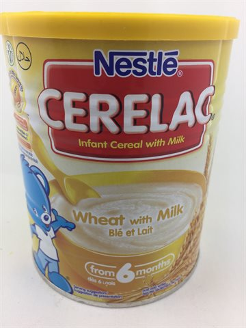 Cerlac Wheat With Milk (Hvede med Mælk)