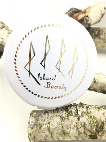 Island Beáuty compact face powder Chocolate Tan 18g.