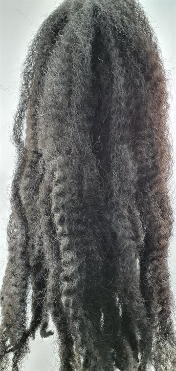 "Afro Twist Kinky Braid hair 45 cm (18"") Ap.100 g. Colour 4 Brown"