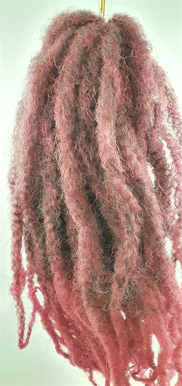 "Afro Twist Kinky Braid hair 45 cm (18"") Ap.100 g. Colour Mixed LIght Red"