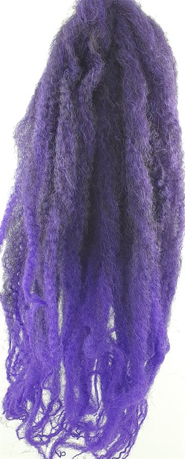"Afro Twist Kinky Braid hair 45 cm (18"")100 g. Mixed Colour (blue Brown)"
