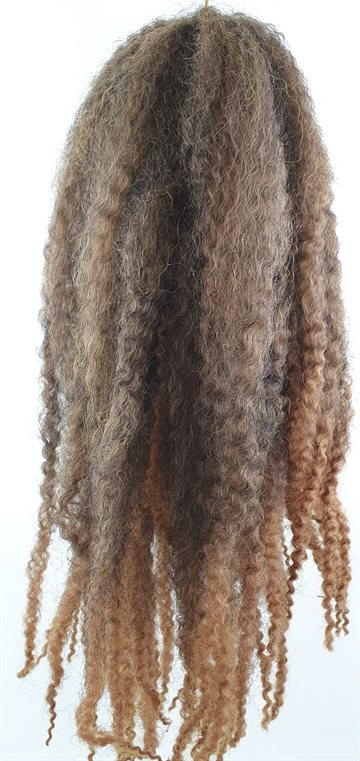 "Afro Twist Kinky Braid hair 45 cm (18"")100 g. Brown"