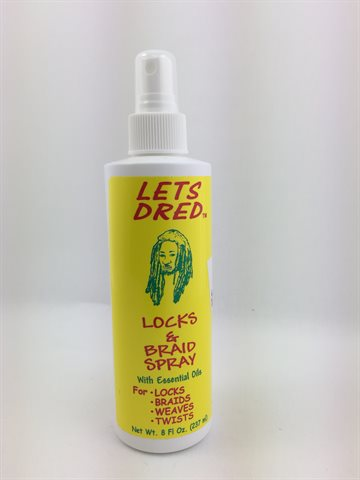 Lets Dred Braid Spray For Locks, Braids, Weaves, Twists237ml.