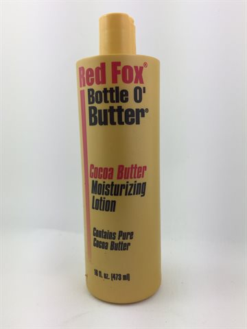 Red Fox Pure Cocoa Butter Moisturizing Lotion 473 Ml