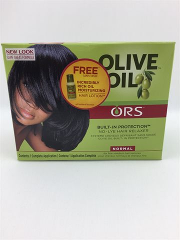 ORS Olive oil No-Lye Hair relaxer normal kit