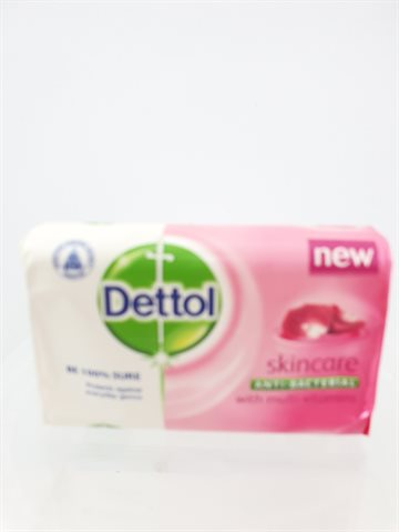 Dettol Soap Anti bacterial Skincare - Be 100% sure Protects against everyday Germs (Sæbe 85 g)