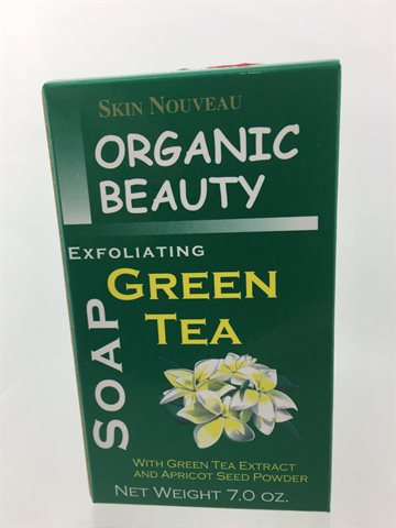 Skin Nouveau Exfoliating Green Tea soap 200g.
