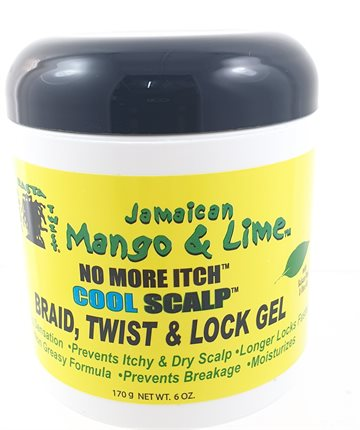 Jamaican's Mango & Lime Braid, twist & Lock Gel 170 gr