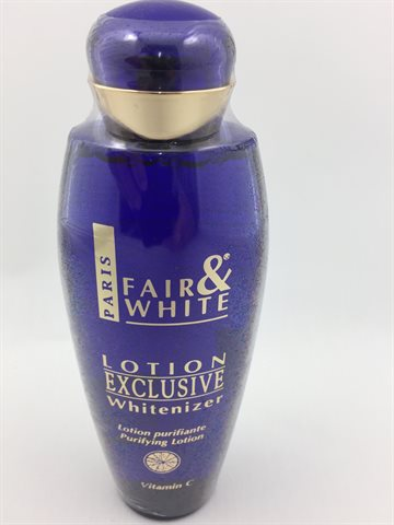 Fair & White body lotion Exclusive Whitenzer250ml