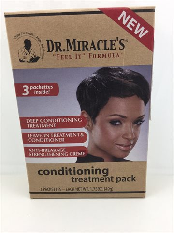DR. Miracle's Conditioning Hair treatment 3 i en pack. 170 gr