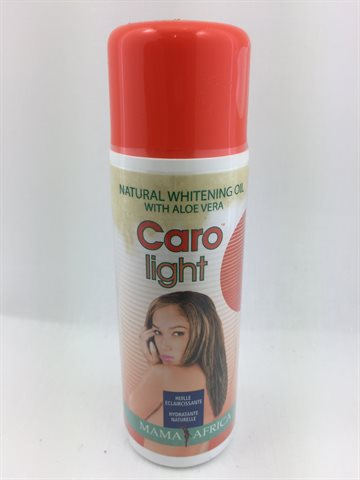 Caro light Natural Whitening oil With aloe vera 125 Ml