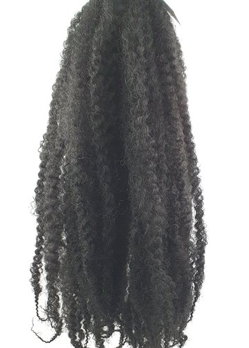 "Afro Twist Kinky Braid hair 55 cm (22"")110 g. Colour 1  Black."