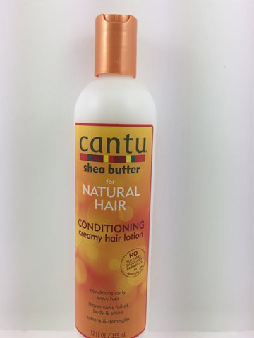 Cantu for Natural Hair - Conditioning Hair Creamy hair Lotion 355 Gr.