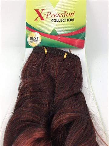 X-Pression colour 1/350 weaving Celina hair 45cm lenngth and 150 Gr.