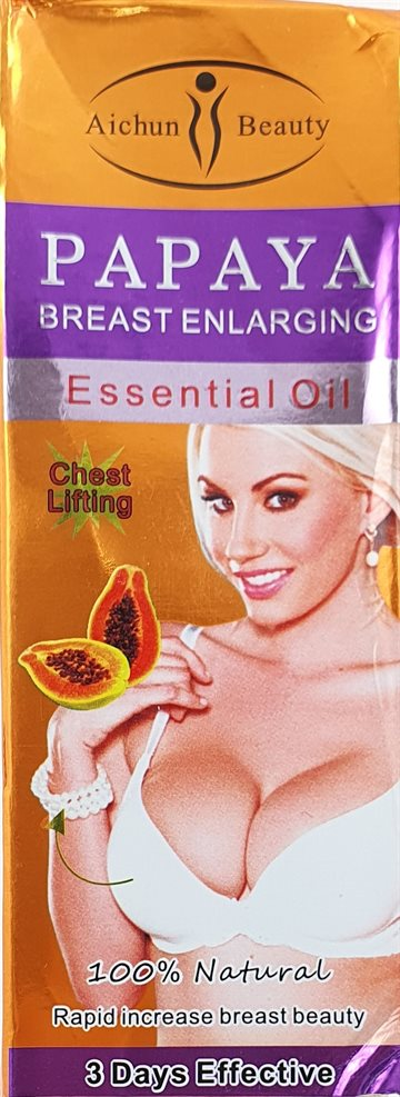 Papaya Extract Breast Enlargement Oil - Beauty 30 ml.