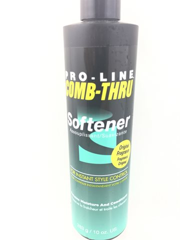 Pro - line Comb Thru Softener conditioner for hair
