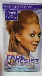 Dark & Lovely hair color Honey Blonde 378 (UDSOLGT)