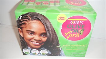ORS Olive oil Girls Hair relaxer kit