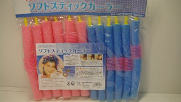 Spong Hair Rollers 18 Cm. Long