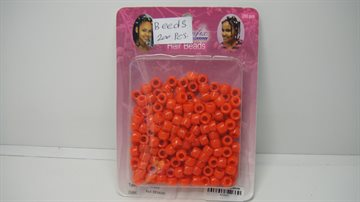 Hair beads Red colour 200 Pcs..