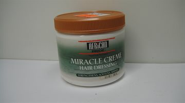African Pride Olive Miracle Creme hair dressing 150gr. Anti Breakage